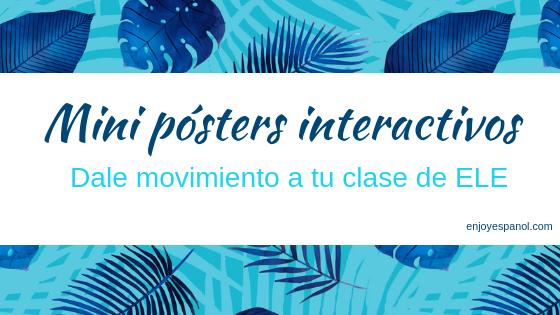 Mini-pósters interactivos