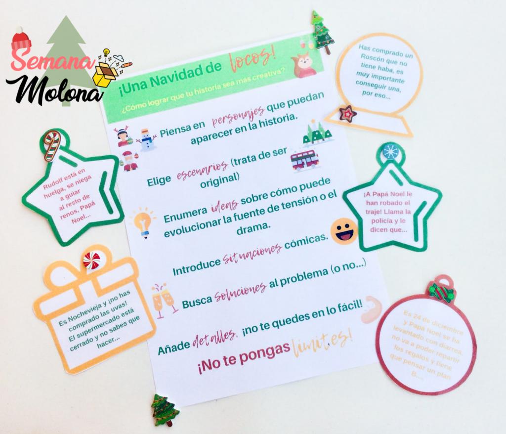 Actividades navidad español