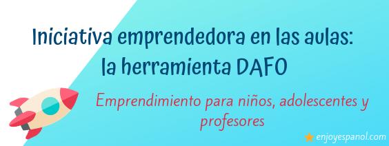 Iniciativa emprendedora en las aulas: DAFO