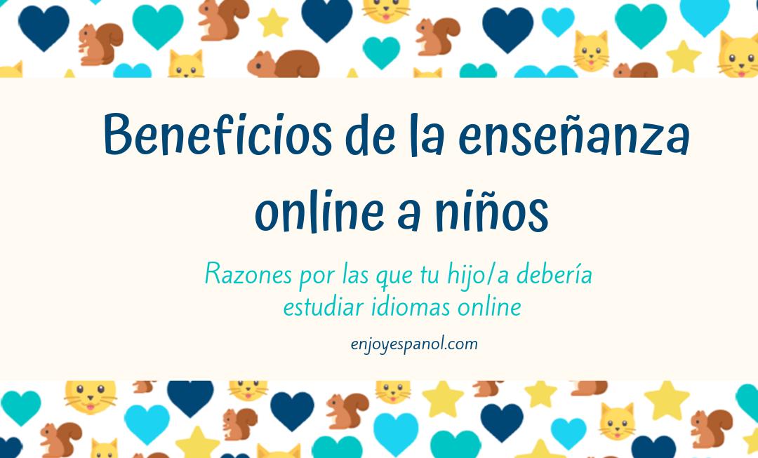 Enseñar online a niños