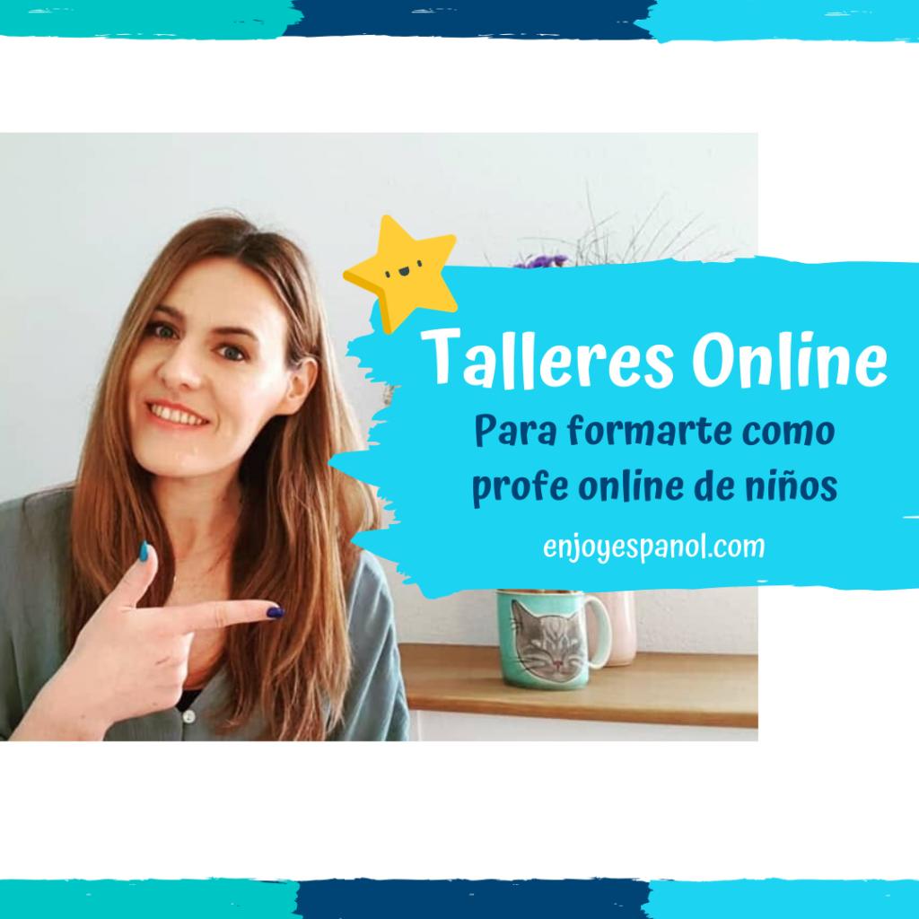 Ser profesor online de niños