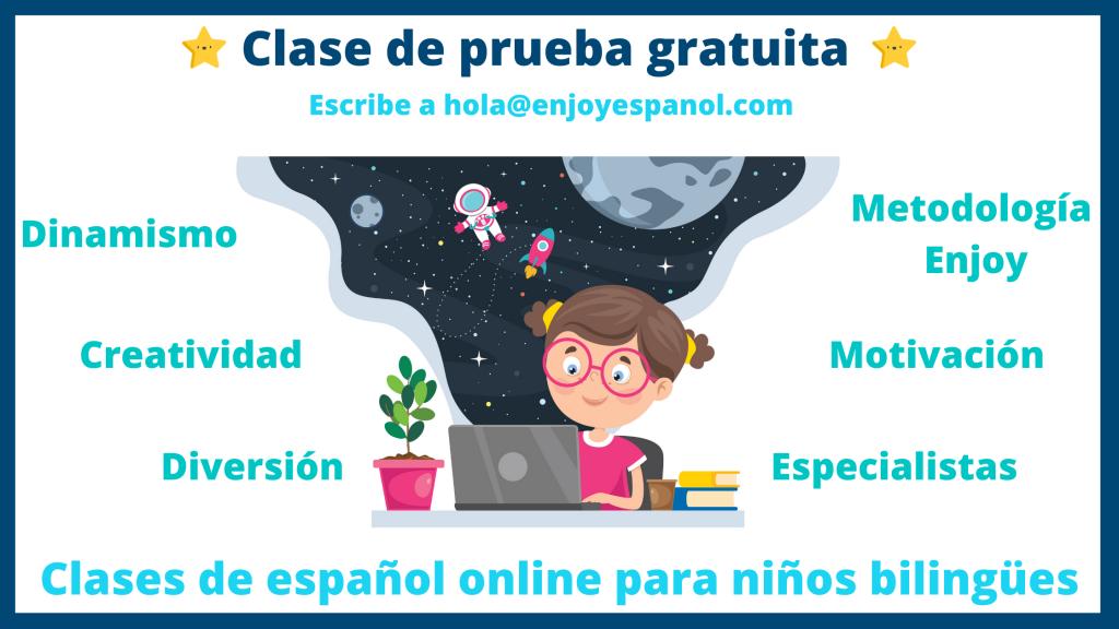 cursos de español online para niños