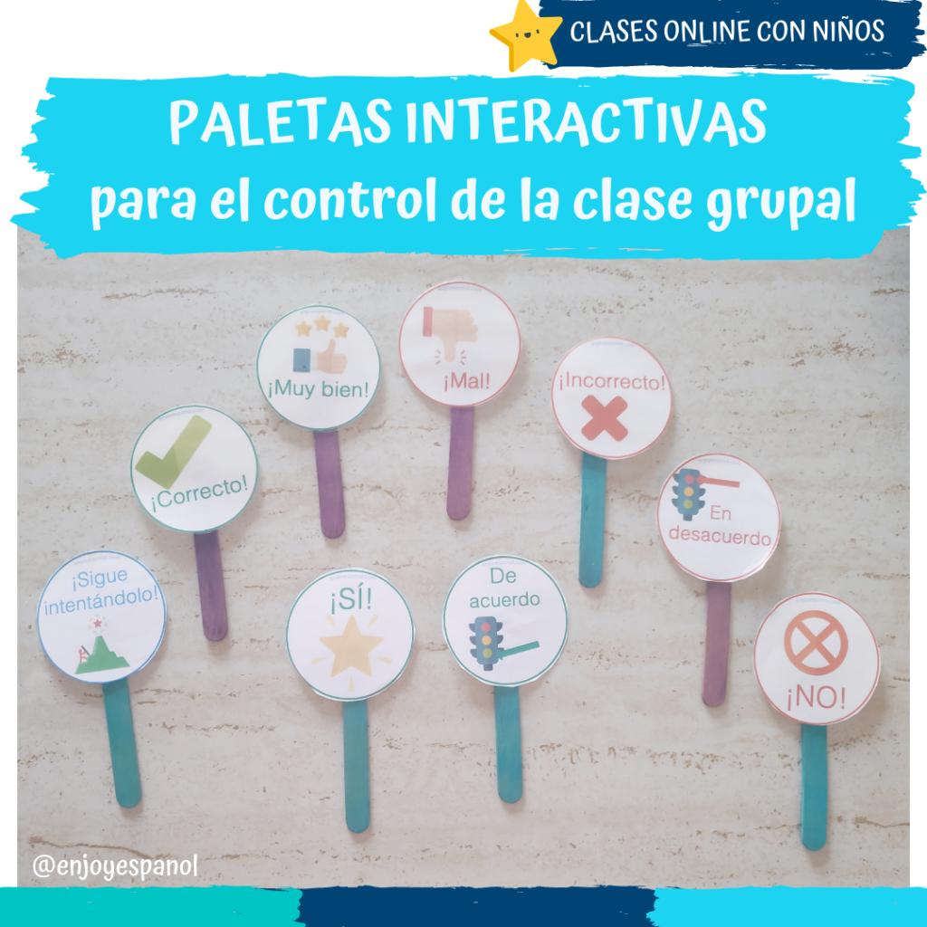Control de clases grupales online